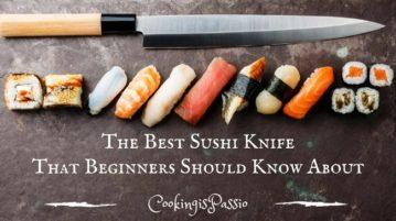 Best Sushi Knife Under 100