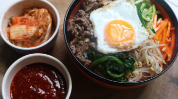 bibimbap toppings
