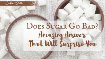 sugar smells bad