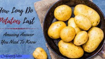 potatoes in fridge