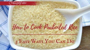 how to parboil rice for biryani