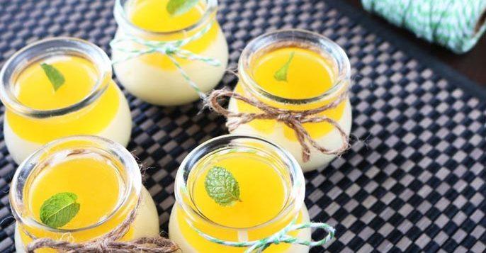 mango passion fruit mousse