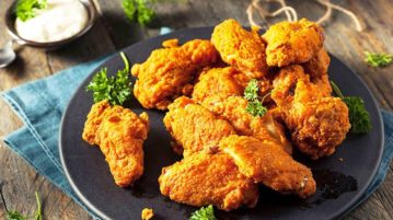how to reheat frozen fried chicken
