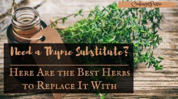 thyme substitute for chicken