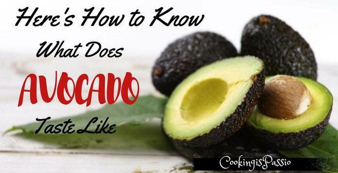 avocado taste bitter
