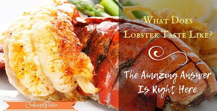 why does lobster taste sweet