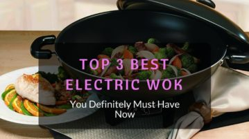 commercial electric wok