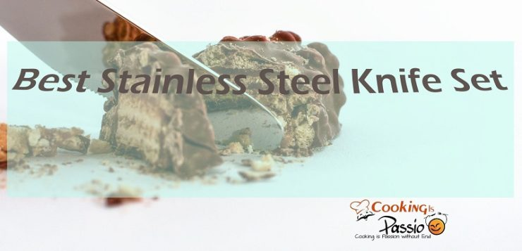 stainless steel knife set